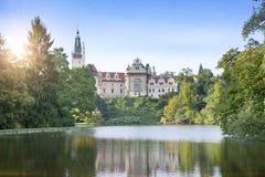 Århundrade XVI för Pruhonice slott XII nära Prague royaltyfri bild
