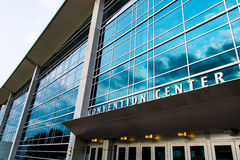 Århundradesammanlänkning Convention Center Omaha Nebraska Royaltyfri Foto