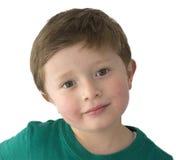 Årig amerikansk pojke förtjusande 5 Royaltyfri Foto