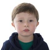 Årig amerikansk pojke förtjusande 5 Royaltyfria Foton