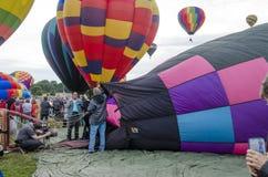 Årlig ballongfestival Colorado Springs, Colorado Royaltyfri Fotografi