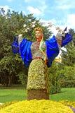 Årlig blommautställning Royaltyfri Fotografi