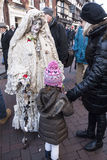 Årlig Dickensian jul festival, Rochester UK Royaltyfri Bild