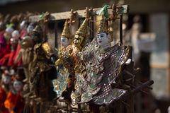 Årlig docka av Myanmar Arkivbilder