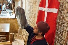 Årlig festival av medeltida kulturer av Europa royaltyfri foto