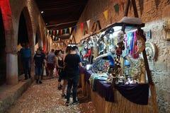 Årlig festival av medeltida kulturer av Europa royaltyfria foton