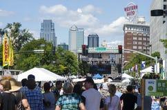 Årlig Kansas City irländareFest Arkivbild