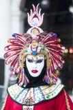 årlig karnevalstad italy venice Royaltyfria Foton