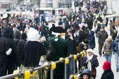årlig karnevalstad italy venice Royaltyfri Fotografi