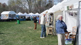 Årlig skogskornellfestival i Fairfield, Connecticut Arkivbild