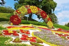 Årlig traditionell utställning för 59 blomma Royaltyfri Bild
