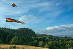 2008 årliga gyckel för frenesi för april ståndsmässiga flygfrederick som har drakedrakar, parkerar folk sjunde sherandoen tagna v Fotografering för Bildbyråer