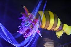 Årliga stora drakar ståtar Royaltyfri Bild