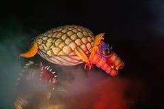 Årliga stora drakar ståtar Arkivfoto