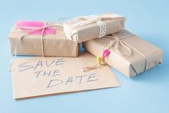Årligt datuminbjudankort fotografering för bildbyråer