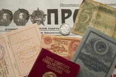 100. årsdag av den bolsjevikiska direktstöten av 1917 Arkivfoto