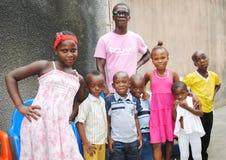 ÅRSDAG AV DET AFRIKANSKA BARNET Fotografering för Bildbyråer