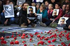 Årsdag av det armeniska folkmordet Arkivfoto