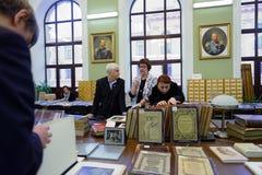 140. årsdag av St Petersburg konst och branschakademin Royaltyfri Foto
