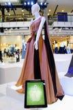 Årsdag för födelsedag för drottning för utställning H.M. 80th Arkivfoto