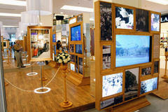 Årsdag för födelsedag för drottning för utställning H.M. 80th Arkivfoton