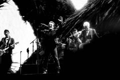 2017 årsdag för U2 Joshua Tree World Tour-30th Arkivfoton