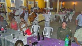 Årsdag i Bolivia, Sydamerika Fotografering för Bildbyråer