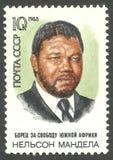 Årsdag Nelson Mandela Royaltyfri Foto