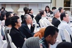 Årsmöte av det thailändska samhället för bioteknik Royaltyfri Fotografi