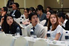 Årsmöte av det thailändska samhället för bioteknik Arkivbild