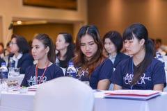 Årsmöte av det thailändska samhället för bioteknik Royaltyfria Foton