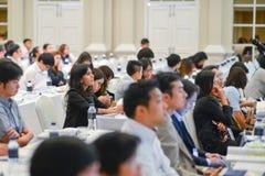 Årsmöte av det thailändska samhället för bioteknik Royaltyfri Bild