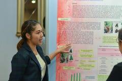 Årsmöte av det thailändska samhället för bioteknik Arkivbilder