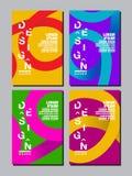 Årsrapport 2018,2019,2020, framtid, affär, mallorienteringsdesign, räkningsbok färgrik vektor, infographic, plana lodisar för abs Fotografering för Bildbyråer