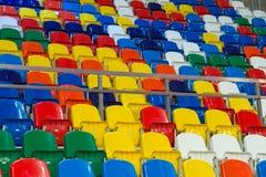 Åskådar- ställen av komplexa sportar arkivbild