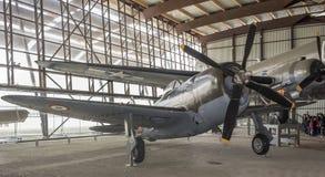 Åskvigg 1941 för republik P-47 - kämpe-bombplan av den andra Wen Royaltyfria Foton