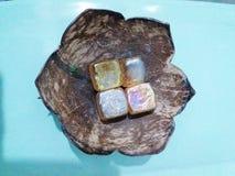 Återanvänd kokosnöten Arkivfoton