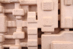 Återanvänd pappers- textur 3d Arkivfoto