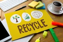 ÅTERANVÄND projektet för tillväxt för livbevarandeskydd om Busine Royaltyfria Foton