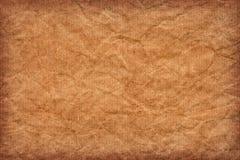 Återanvänd randig brun textur för Grunge för Kraft papper - detalj arkivfoto