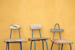 återanvänd stolsdesign Arkivbilder