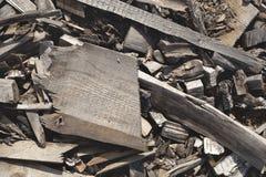 Återanvänd wood textur Royaltyfri Bild