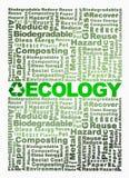 återanvänder begreppsmässig ekologi för oklarhet ord Royaltyfria Foton