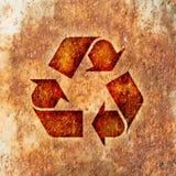 återanvändning av symbol Arkivfoton