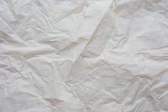 återanvänt skrynkligt papper Royaltyfria Foton