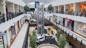 Återförsäljnings- köpcentrum Arkivbild
