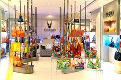 Återförsäljnings- uttag för handväskor Royaltyfria Foton