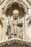 Återgivning av ärkebiskopen av York på den York domkyrkan royaltyfri fotografi