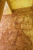 Återgivning av det Ramesses II dödandet en fiende fotografering för bildbyråer
