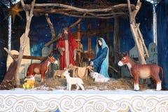 Återgivning av Kristi födelse av Jesus fotografering för bildbyråer